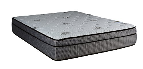Continental Sleep Mattress, 13-Inch Fully Assembled Foam Encased Soft Eurotop Orthopedic Queen...