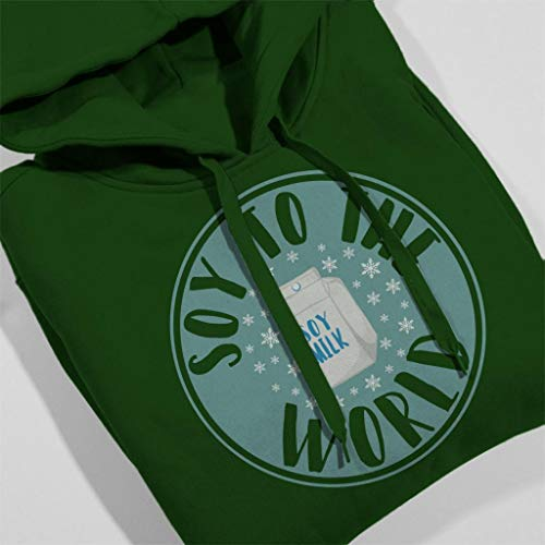 Women's Christmas Coto7 Bottle World Soy Hooded To Sweatshirt Green The vZXUZ