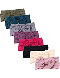 Baby Nylon Elastic Knotted Headbands Baby Head Wraps Baby...