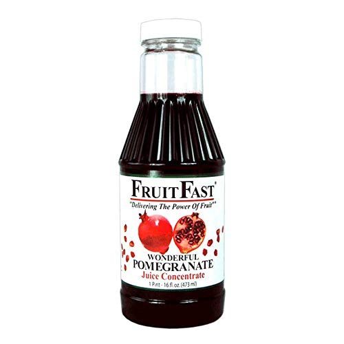 Wonderful Pomegranate Juice Concentrate by Brownwood Acres - Non-GMO Gluten Free (16 Ounce)