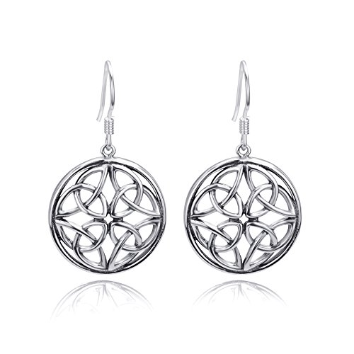 Jewelry Sterling Silver Celtic Earrings