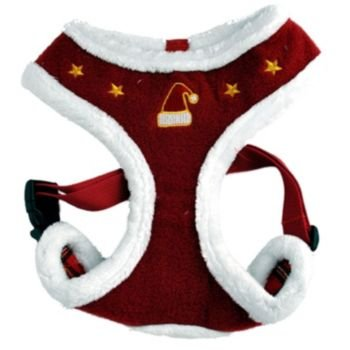 Puppia Santa Dog Harness XXLarge Red (Puppia Santa)