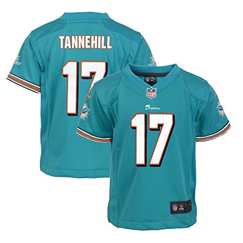 b580a18e Nike Ryan Tannehill Miami Dolphins NFL Boys Teal Game Jersey