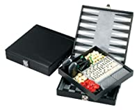 The Casino Royale 5-in-1 Gaming Set Chess, Backgammon, Checkers, Dominoes, Cribbage