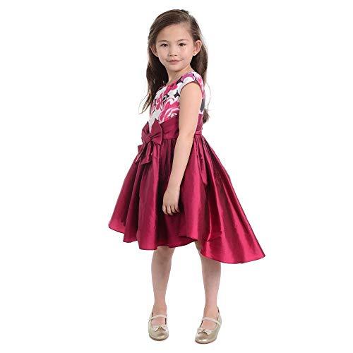 PIPPA & JULIE Alicia Crimson Dress ()