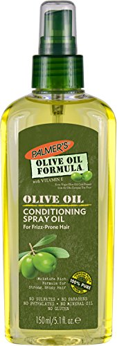 Extra Treatment Hair Virgin Oil Olive (Palmer's Olive Oil Formula Hair Conditioning Spray Oil, 5.1 oz. (Pack of 2))