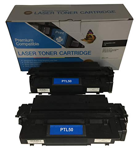 2 Compatible Black Cannon imageCLASS D860 L50 Printer Copy Ink Toner Cartridge Replacement for Canon L5O Image-Class D-860 All-in-one Multifunction Copier Machine 6812A001AA