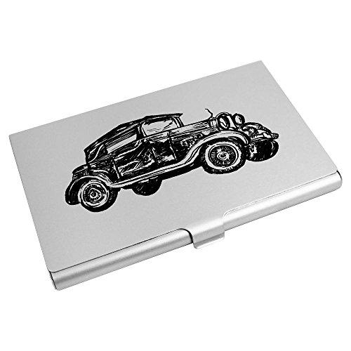 Azeeda 'Vintage Car' Card Credit Business CH00009083 Wallet Card Holder Av7ZCAwq