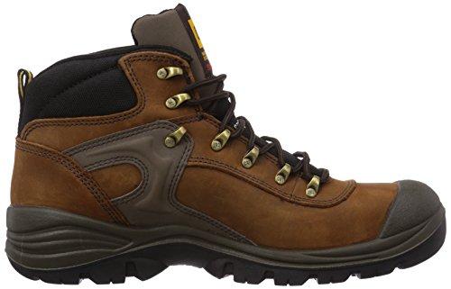 PROTEQ PNEUMATIC S3 CAT WSCH HG BR 45 - Zapatos De Seguridad de piel Unisex adulto Marrón (bruin 05)