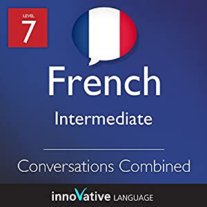 Intermediate Conversations Combined (French) Audiobook