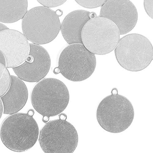 ImpressArt 1//2 Circle Premium Metal Stamping Blanks Brass 24 Pieces,