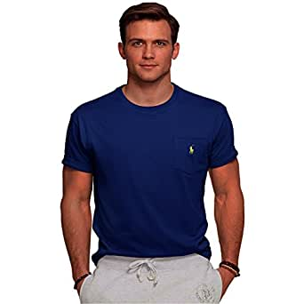 Polo Jersey Crew Neck Blue