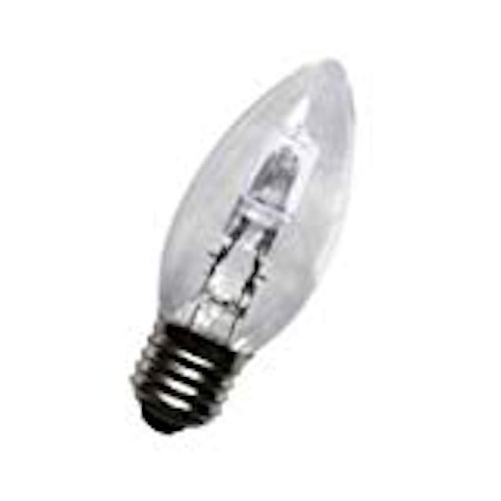 10 x 42w ES Energy Saving Halogen Dimmable Clear Candles E27/Large Edison Screw 55w Light Output Status