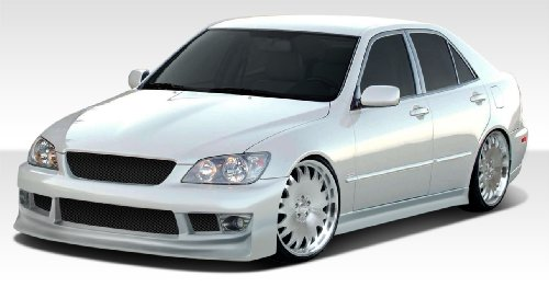 Duraflex Replacement for 2000-2005 Lexus IS Series IS300 V-Speed 2 Front Bumper Cover - 1 Piece