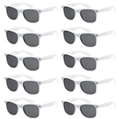 Got Shades offers adult unisex 10 pack sunglasses available in 42 different color options. The glasses are normal sunglasses or fake nerd glasses that retails at $10. Excellent for parties favors, birthdays, school fundraising, charity auctio...