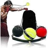 Boksen Training Ball Reflex 3 ballen Fightball Speed Fitness Punch Box Equipment Boxing Fight Ball Reflex met opbergtas…