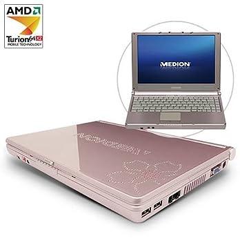MEDION Akoya 12,1 Pulgadas diseño de Ordenador portatil MD 96360 con Cristal Reales de Cristales: Amazon.es: Informática