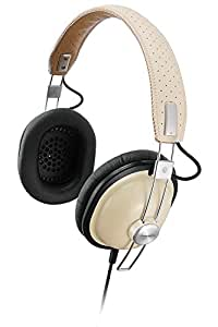 Panasonic Retro Over-the-Ear Stereo Monitor Headphones RP-HTX7-C1 (Cream) Dynamic Accurate Sound, Lightweight and Comfortable