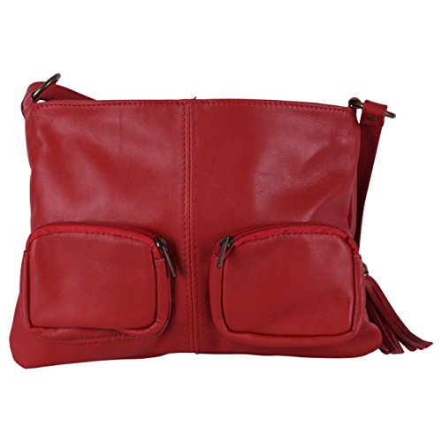 Avril Fonce FRIDAY Sac femme à Rouge Modèle BLACK bandoulière Main OH SPECIAL MY cuir BAG U6Tqxxzwg