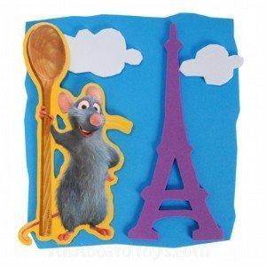 - Disney Ratatouille Party Foam Activity Kit Party Favors (4 Count) by Hallmark