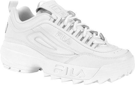 Fila Men's Disruptor II Sneaker,White/White/White,11