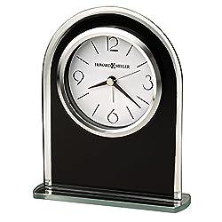 Howard Miller 645-702 Ebony Luster Table Clock