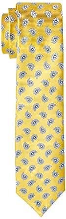 Van Heusen Men's Silk Floral Tie, Navy/Gold Floral