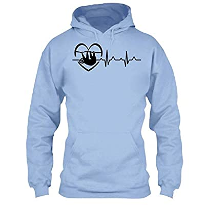 Arered Sloth Cool Tshirt - Sloth Heartbeat T Shirt Design - Arered