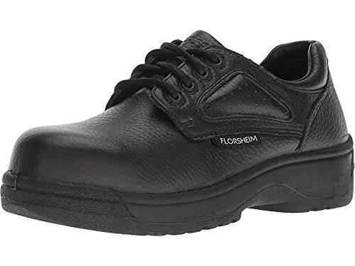 Florsheim Work Womens Work Fiesta Casual Work & Safety Shoes, Black, 7.5