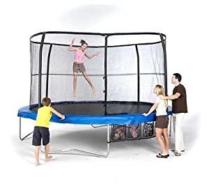 Bazoongi 15' Combo Trampoline and Enclosure JumpPod