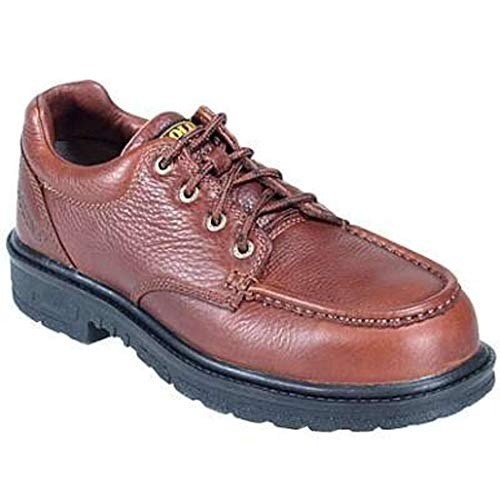 (Carolina New Mens Shoes Safety Steel Toe ESD Moc Toe Shoes CA1579 Sz. 10 EE Brown)