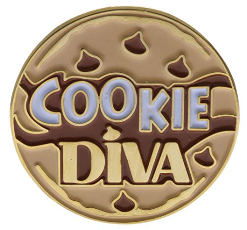 (Cookie Diva Hat or Lapel Pin AVAckied)