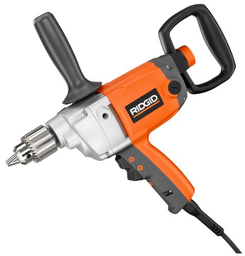 Factory-Reconditioned RIDGID ZRR7121 Heavy-Duty 1/2-inch Spade Handle Drill ()