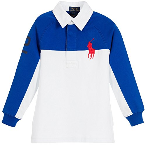 Ralph Lauren Boys Rugby Shirt - 7