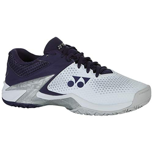 YONEX Power Cushion Eclipsion 2 Mens Tennis Shoe, White/Navy (Size 12)