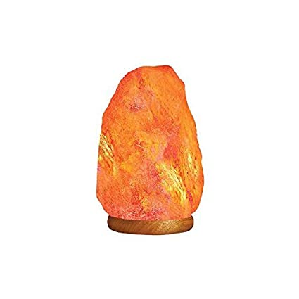 Wonderful HemingWeigh Natural Himalayan Rock Salt Lamp 6 7 Lbs With Wood Base,  Electric Wire