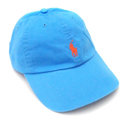 Polo Ralph Lauren Mens Chino Adjustable Ball Cap Orange O/S