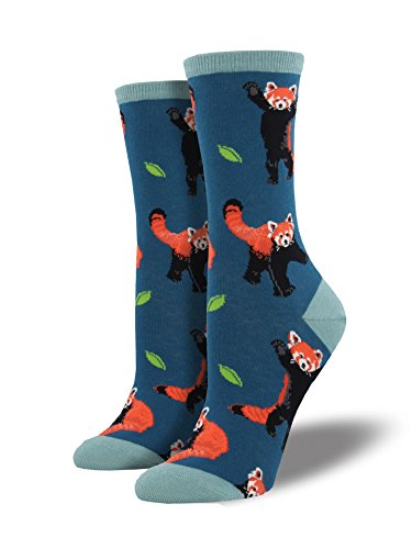 "Socksmith Womens' Novelty Crew Socks ""Red Panda"" - 1 pair"