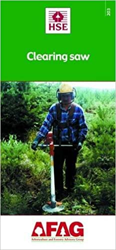 Clearing Saw (Arboriculture and Forestry Advisory Group (AFAG))