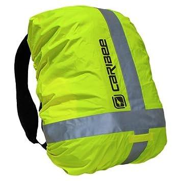 Caribee - Funda impermeable para mochilas de hasta 40 l (reflectante), color amarillo: Amazon.es: Deportes y aire libre