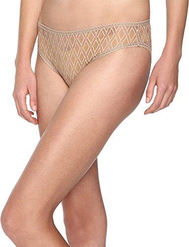 ELSE Women's Baklava Brief Nude Small