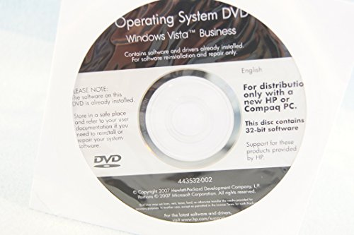 Picture of a HP Hewlett Packard Operating System 634753441966