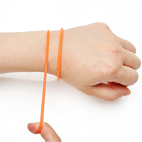 Slow is Fast Silicone Rubber Wrist Band Bracelet, High Elastic Silicone, Easy to Pull and Get Reminding of Purpose, Happy, Positive, Charm Gift (Silicone Purpose All Rubber)