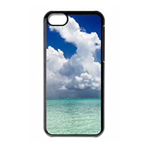 iPhone 5c Cell Phone Case Covers Black Bora Bora With Nice Appearance E0604662