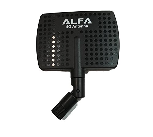 Alfa Wi-Fi 2.4GHz or 4G high gain directional panel antenna