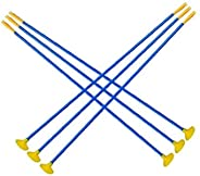 Kids Archery Sucker,Youth Hunting Safe,Hunting Sucker Arrows,Plastic Bow Arrows Set Outdoor Target Shooting 12