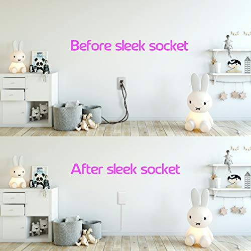 sleek socket - Superior Electrical Childproofing Protects Toddlers & Pets from Hazards of Electrical Outlets & Cords by sleek socket (Image #1)