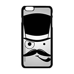 Personalized Clear Phone Case For iPhone 6 Plus,cute lovely joker