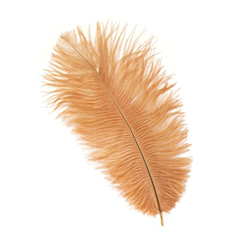 - Zucker Feather (TM) - Ostrich Feathers-Drabs Selected - Cinnamon