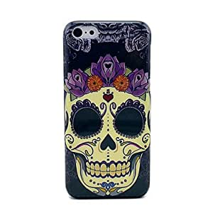 One Big Skull Head Protective Plastic Back Case For iPhone 5C
